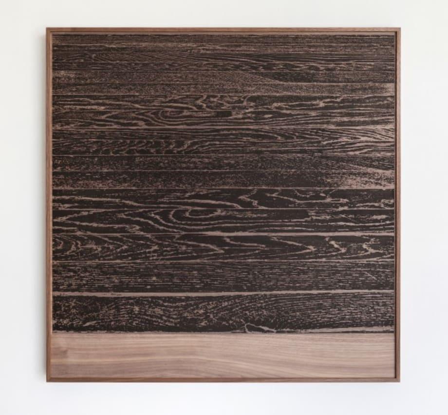 Wooden Floor on Wood (Horizontal) by Analia Saban