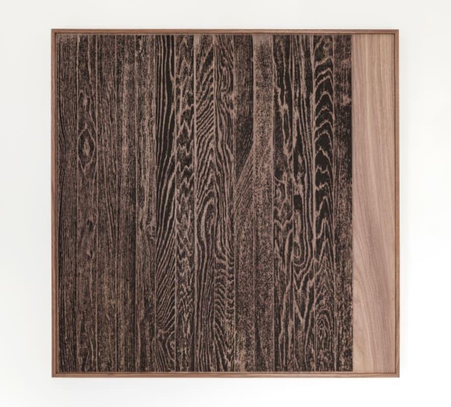 Wooden Floor on Wood (Vertical) by Analia Saban