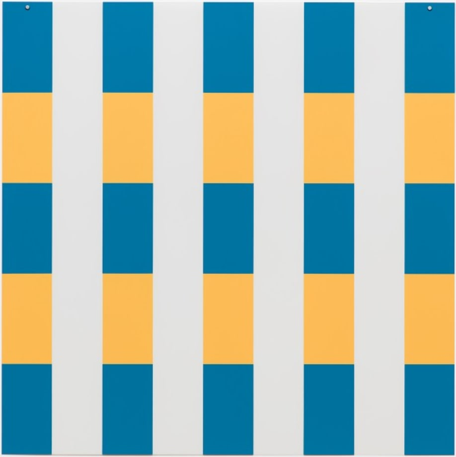 On Transparency: Situated Mylars IV by Daniel Buren