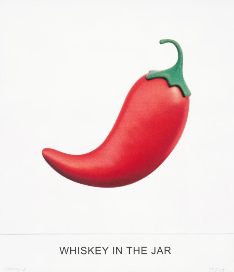 WHISKEY IN THE JAR by John Baldessari