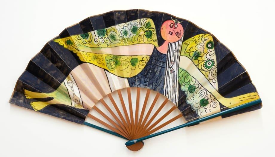 Fan (3) by Wifredo Lam