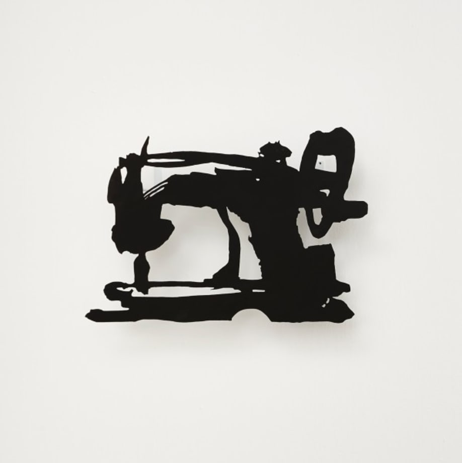 Small Silhouette (Sewing Machine) by William Kentridge