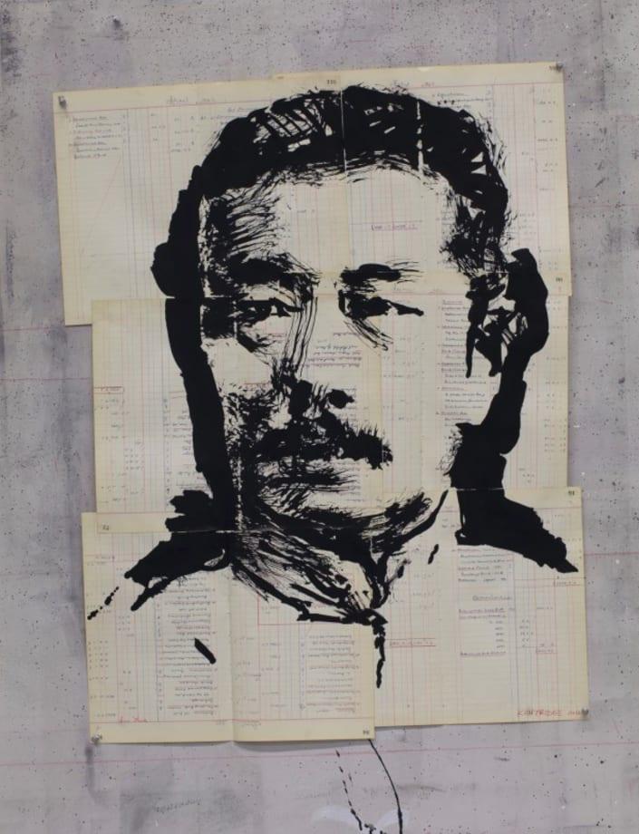 Untitled (Xun Lu) by William Kentridge