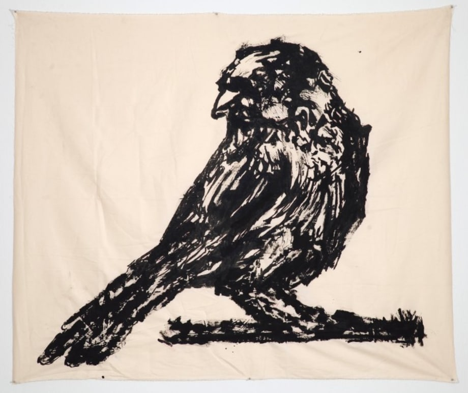 Untitled (Sparrow on Branch) by William Kentridge
