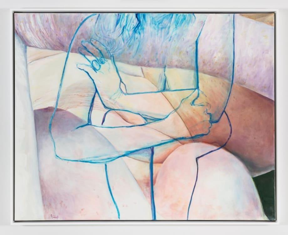 Blue Embrace by Joan Semmel