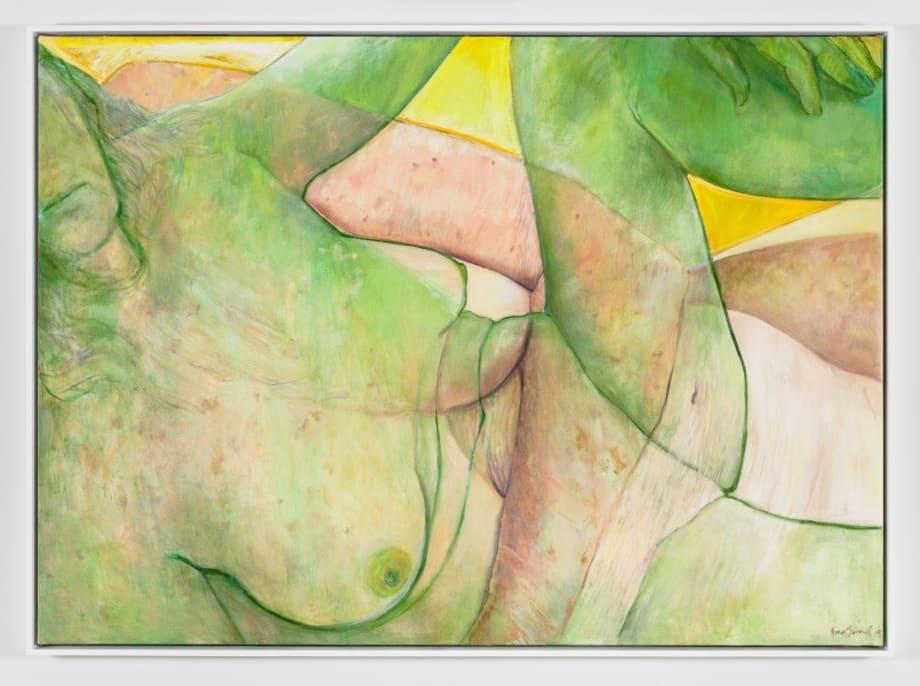 Yellow Sky by Joan Semmel
