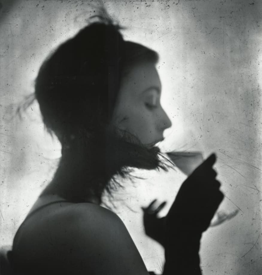 Girl Drinking (Mary Jane Russell) by Irving Penn