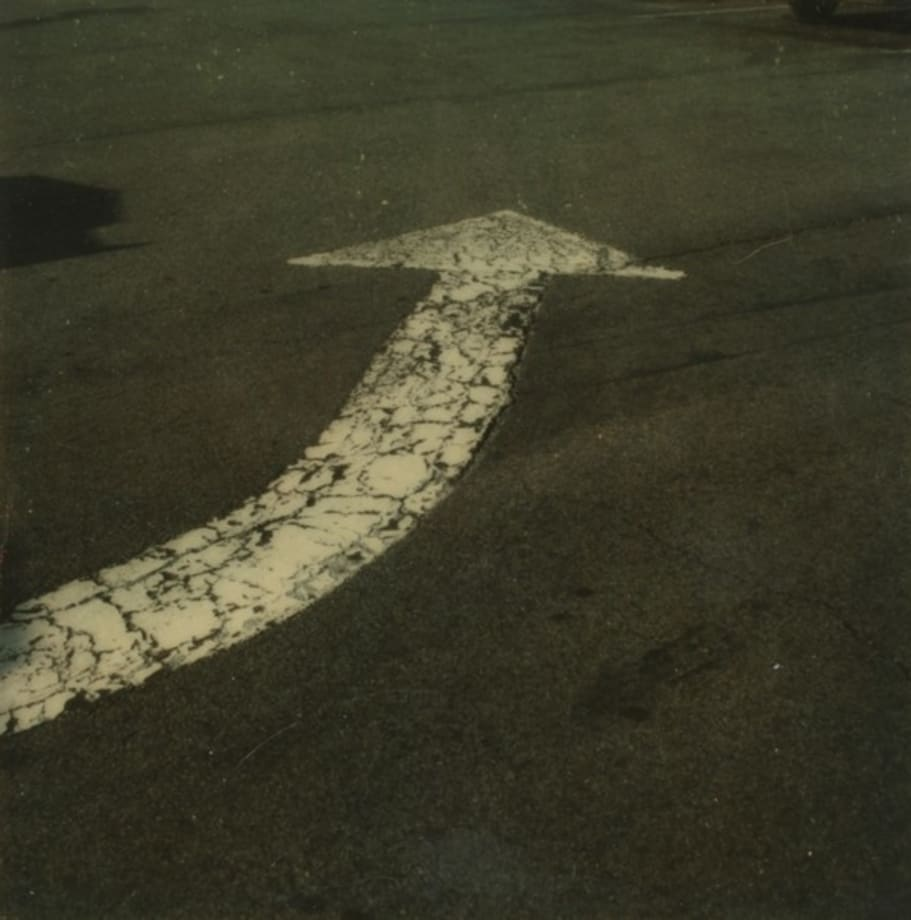Traffic arrow, Old Saybrook, Connecticut by Walker Evans