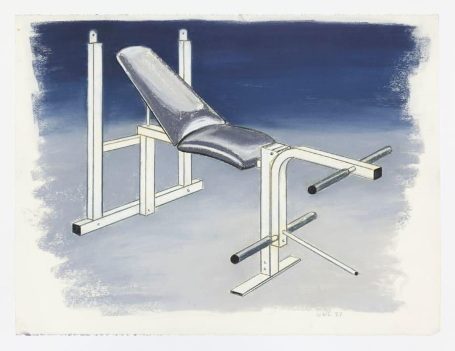 Weight Bench by William Leavitt