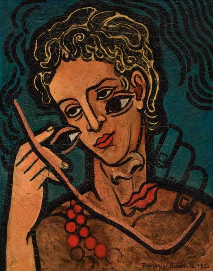 Transparence (Deux têtes) by Francis Picabia