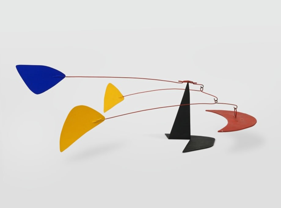 Low Three Feathers by Alexander Calder