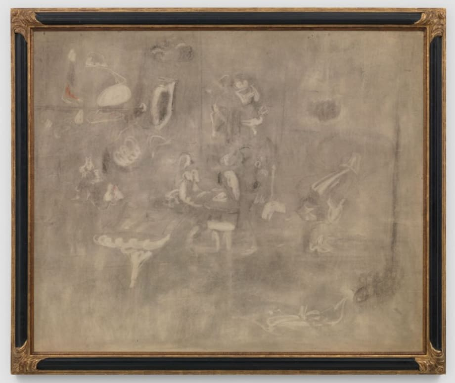 Gray Drawing for Pastoral by Arshile Gorky