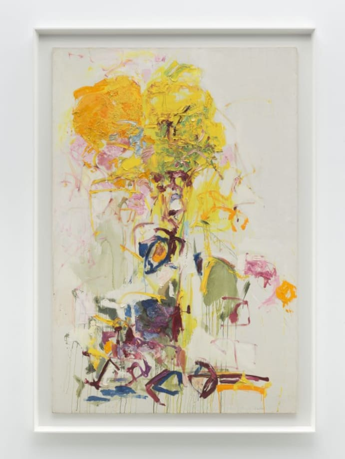 Composition by Joan Mitchell