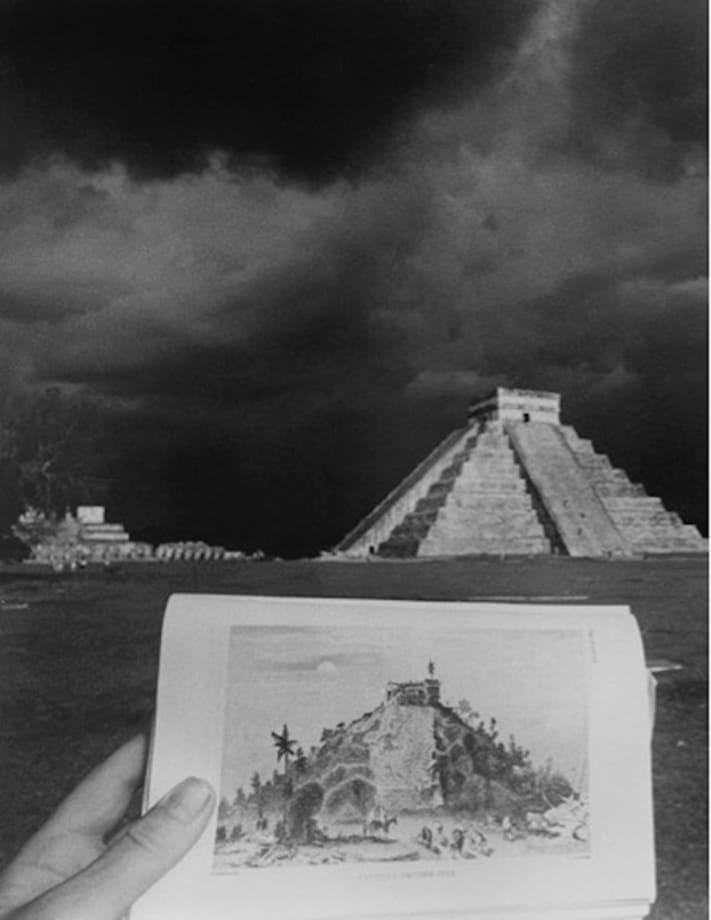 El Castillo [Chichén Itzá] by Leandro Katz