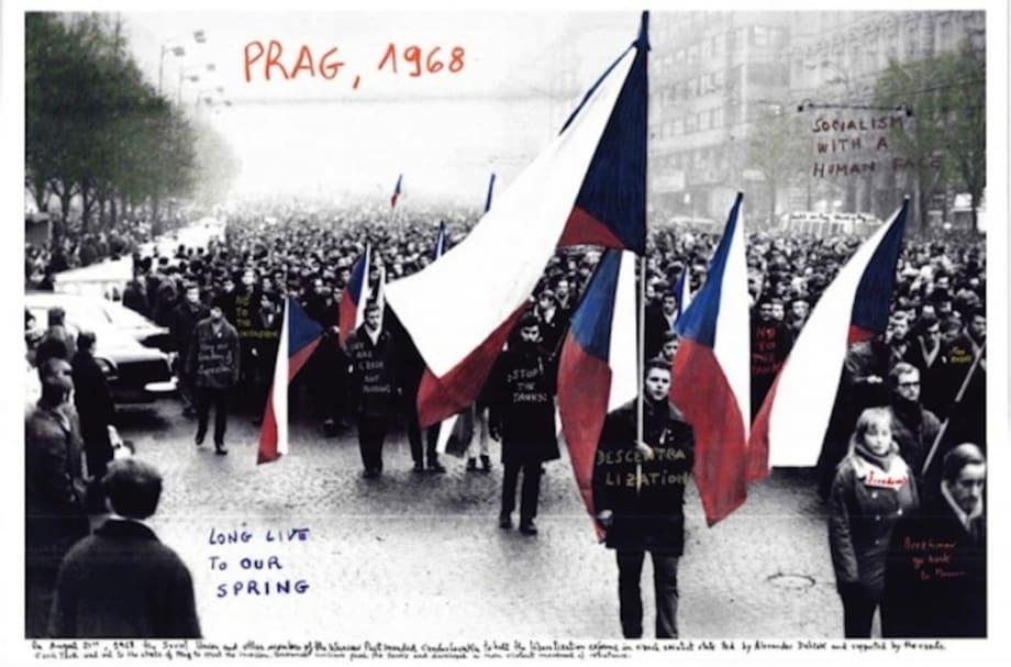 Prag, 1968 by Marcelo Brodsky