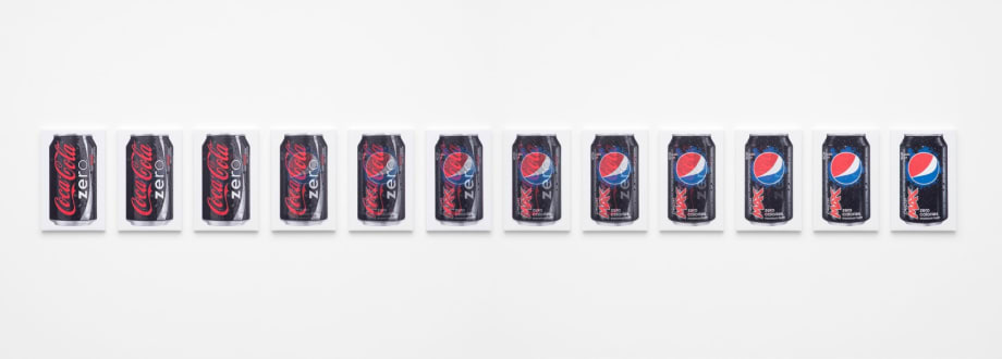 Zero to Max (12 Cans) by Jonathan Horowitz