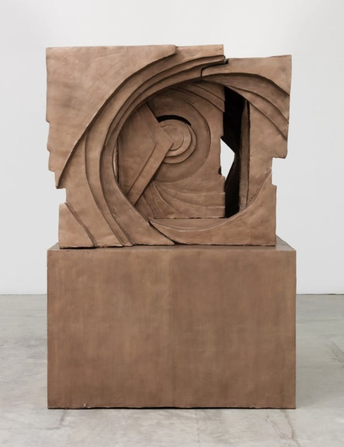 Untitled (small abstract on plinth) by Thomas Houseago