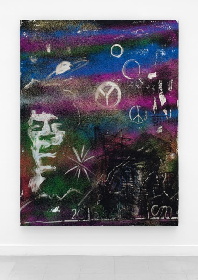 Jimi Hendrix in Outer Space by Chris Martin