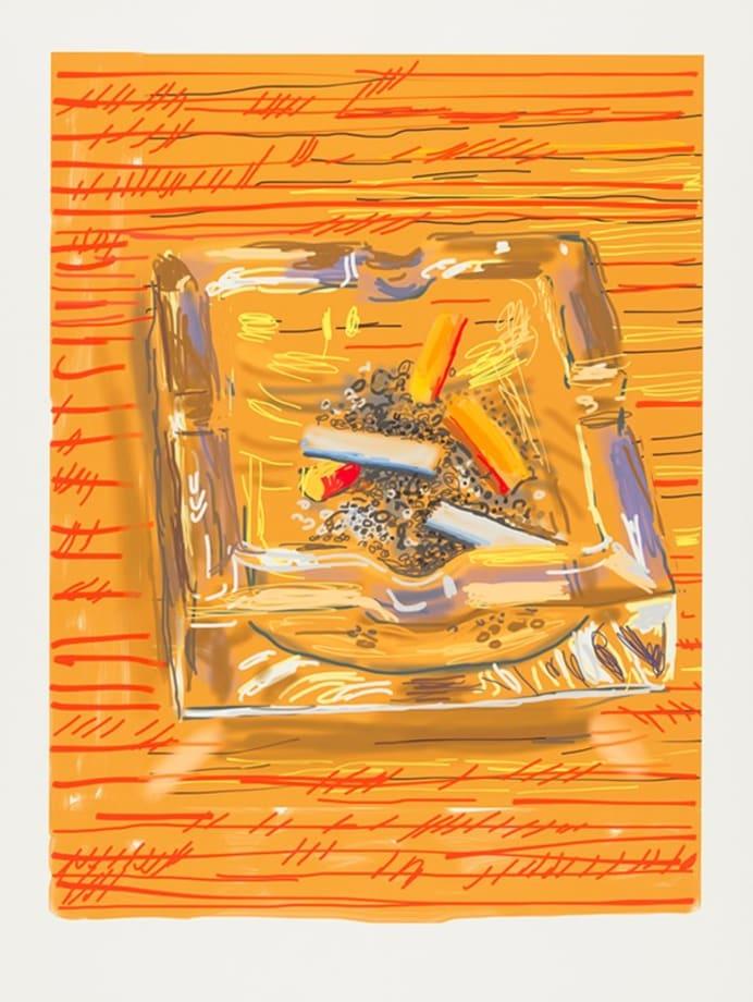 Ashtray by David Hockney