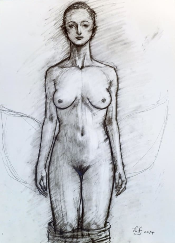 Drawing No. 1416 by Katsura Funakoshi