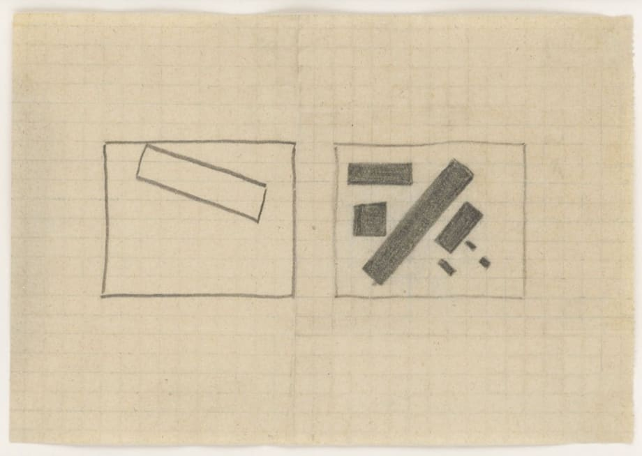 Composition 3k by Kasimir Malevich