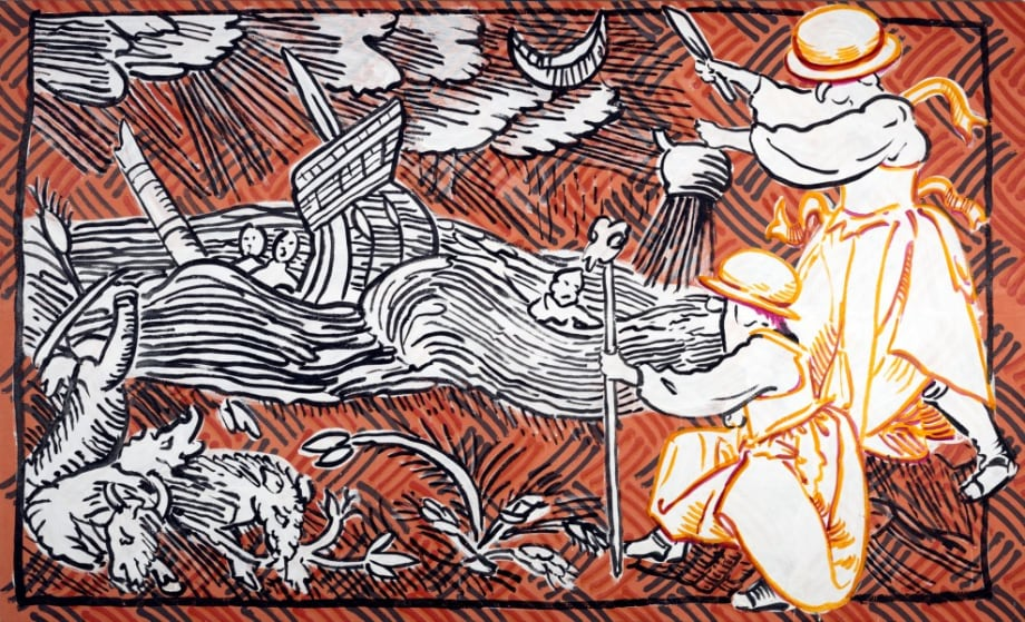 Brewing a storm by Sigrid Holmwood