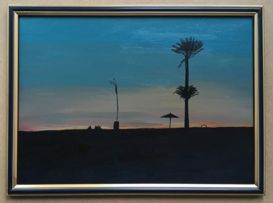 Sunset Blues & Reds by Farida El Gazzar