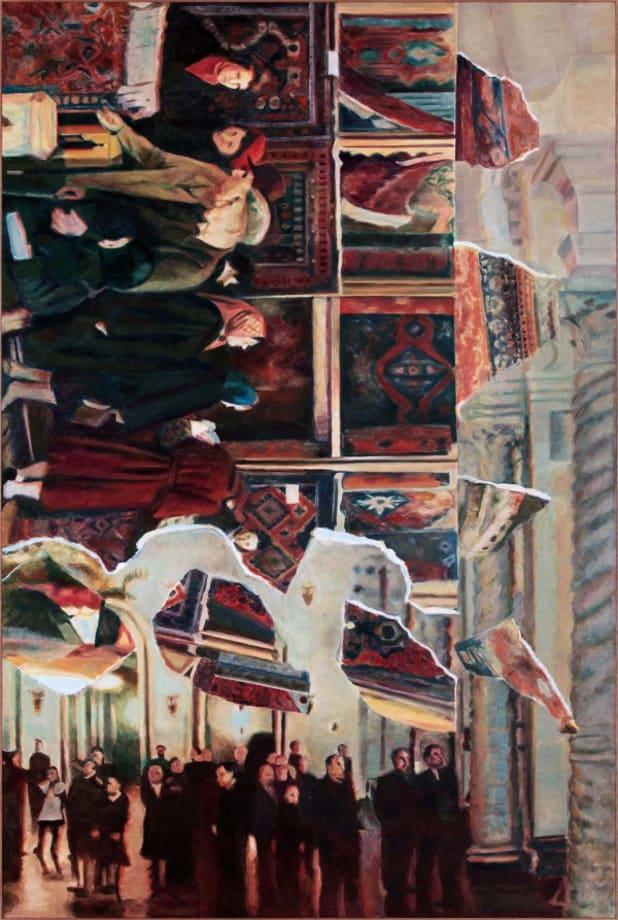722 Vertical Painting #5 by Ilya and Emilia Kabakov