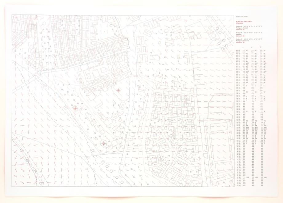 Windkarte by Olaf Nicolai