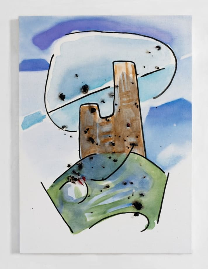 Burns In Drips by Padraig Timoney