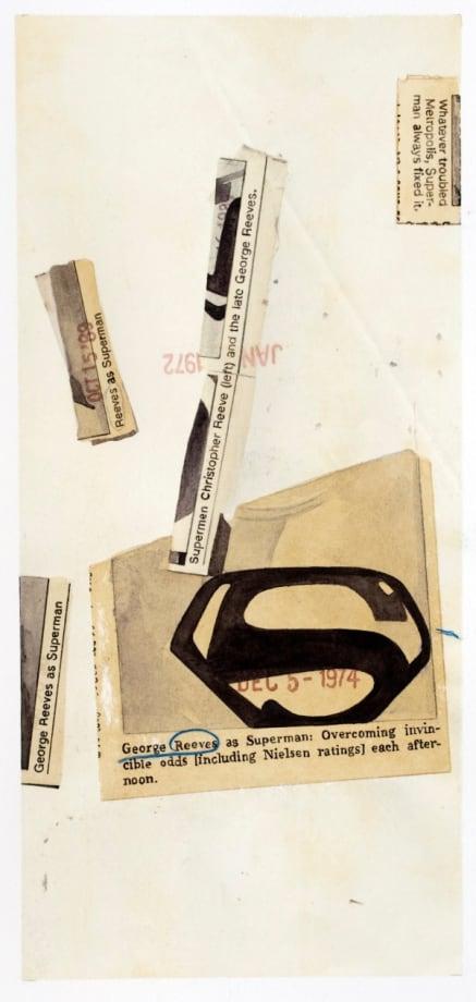 George Reeves as Superman by Elisabetta Benassi