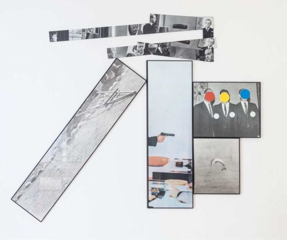 The Fallen Easel by John Baldessari