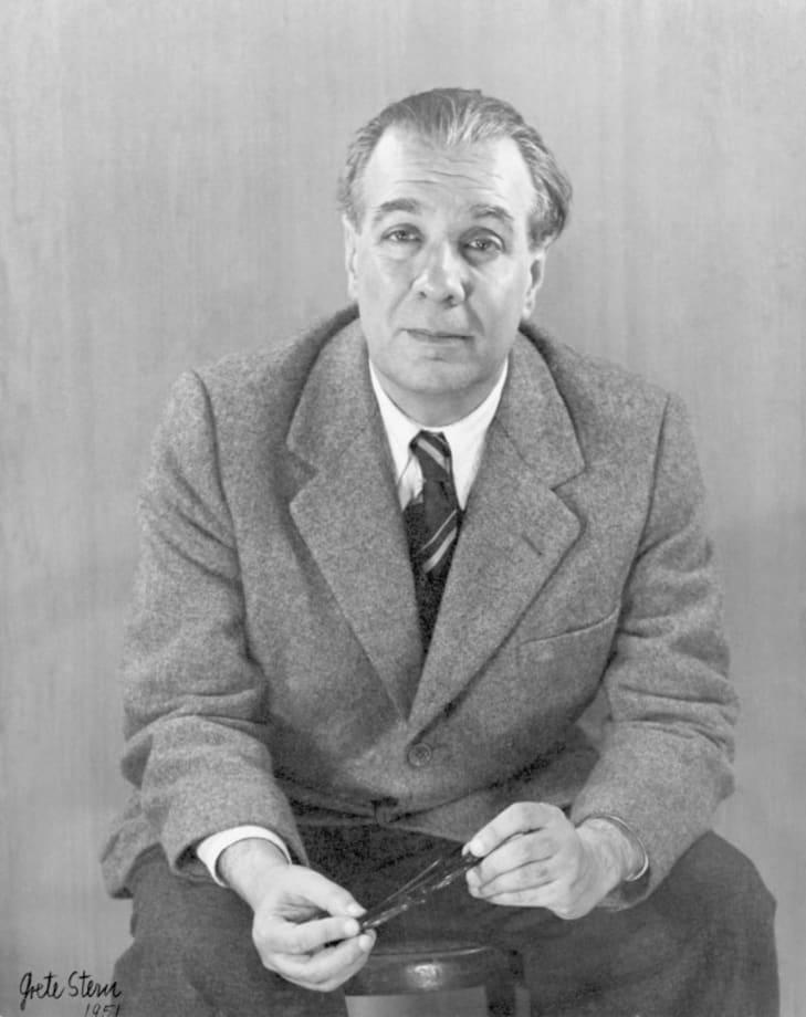 Jorge Luis  Borges by Grete Stern
