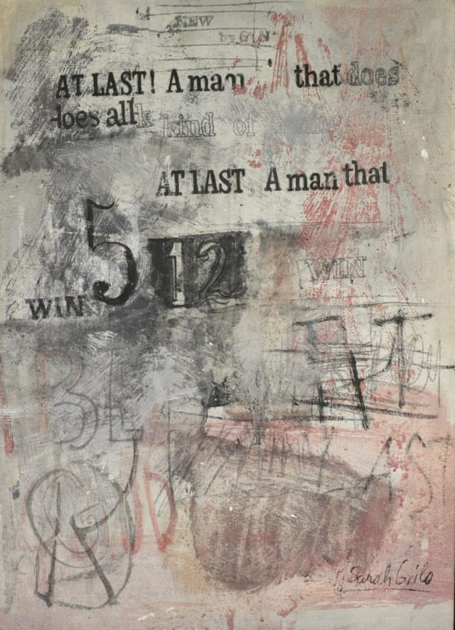 At last a man by Sarah Grilo