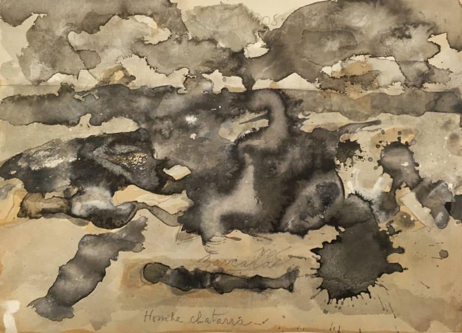 Intestino Chatarra, Series Chatarras,  24 x 35 cm, 1989-1993 by Washington Barcala