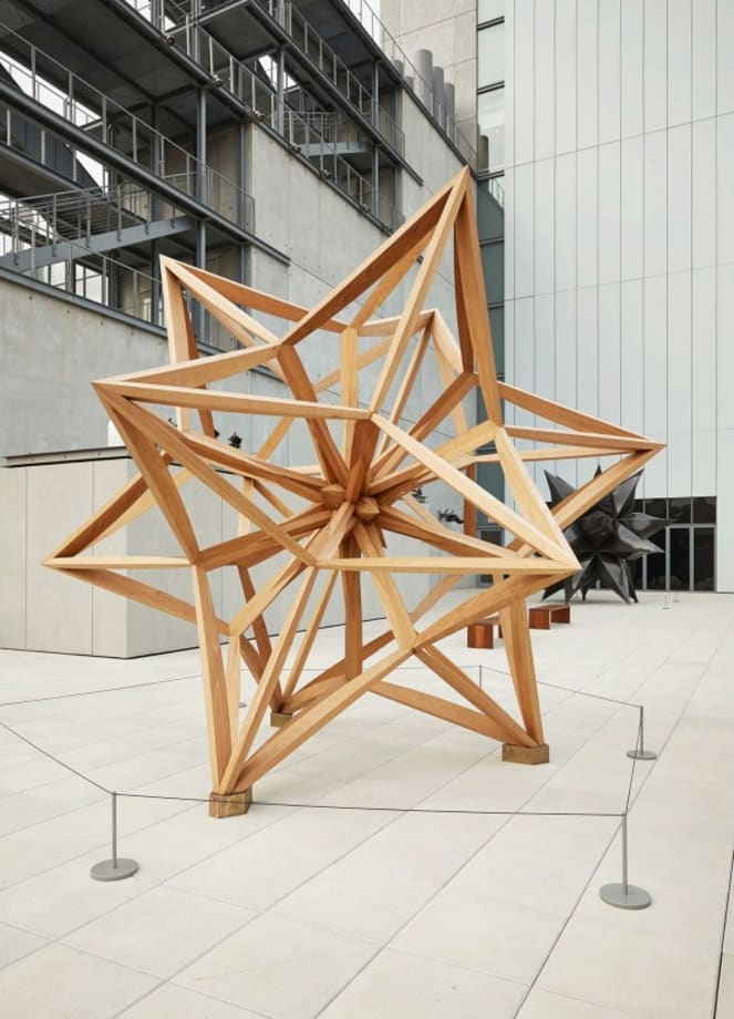 Wooden Star I by Frank Stella