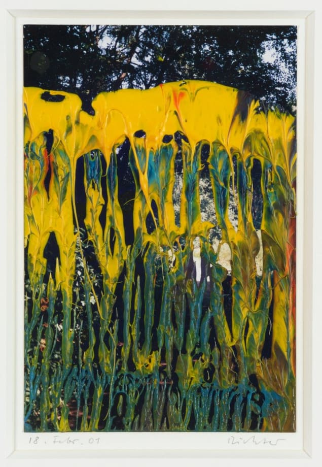 18. Febr. 01 (Park) by Gerhard Richter