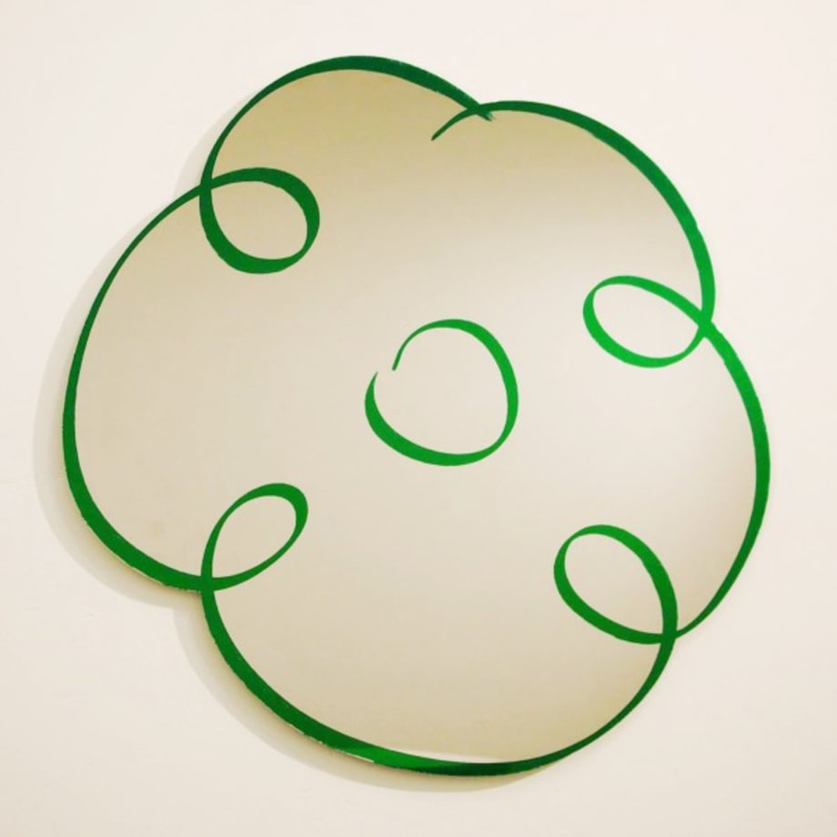 Flower Drawing (Green) by Jeff Koons