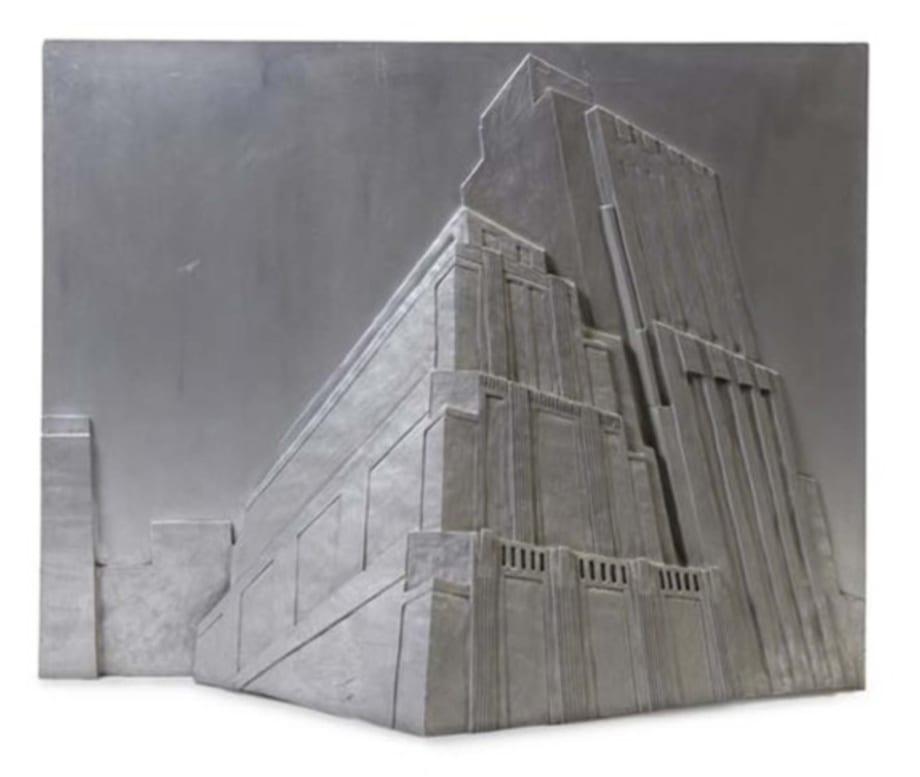 Untitled (New York City Athletic Club) by Robert Longo