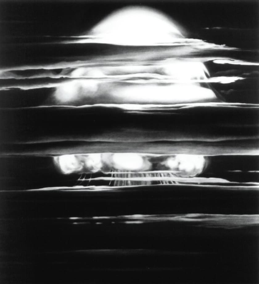 Study for Marshall Island XL by Robert Longo