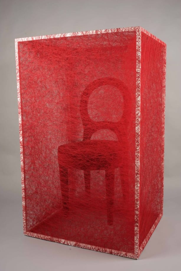 State of Being (Chair) by Chiharu Shiota