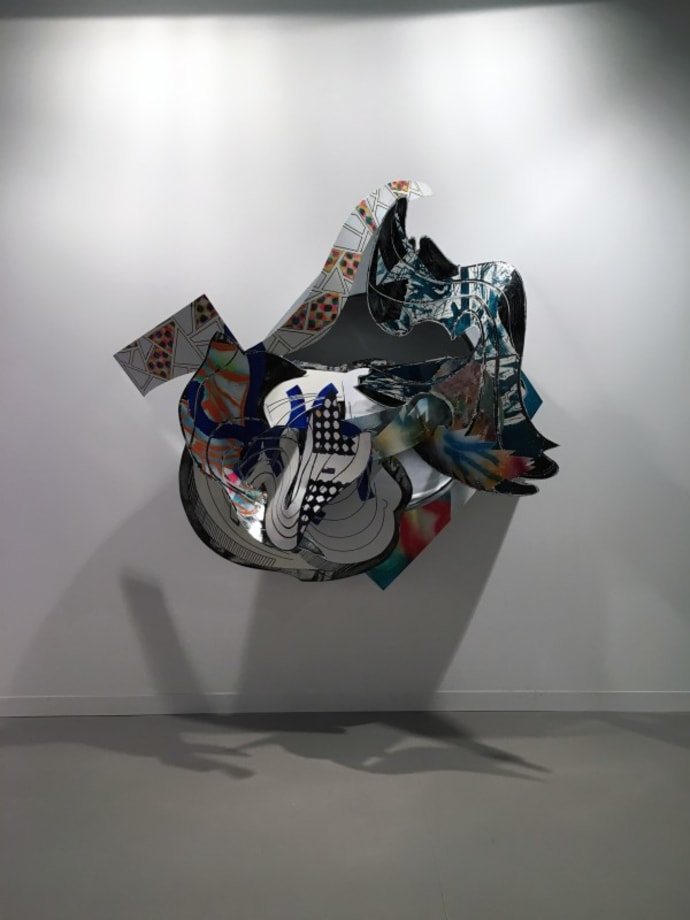 The Musket by Frank Stella