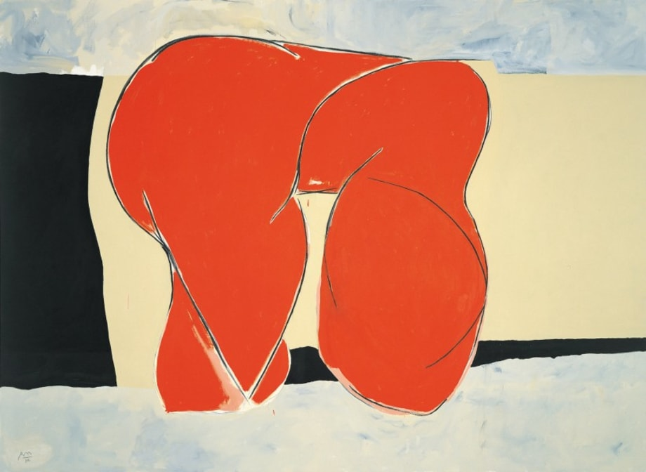 The Feminine II by Robert Motherwell