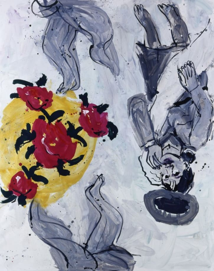 'The Woman Left Side' by Georg Baselitz