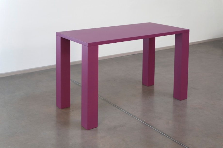 """""""PINK PURPLE TABLE SCULPTURE"""" by Gianni Piacentino"""