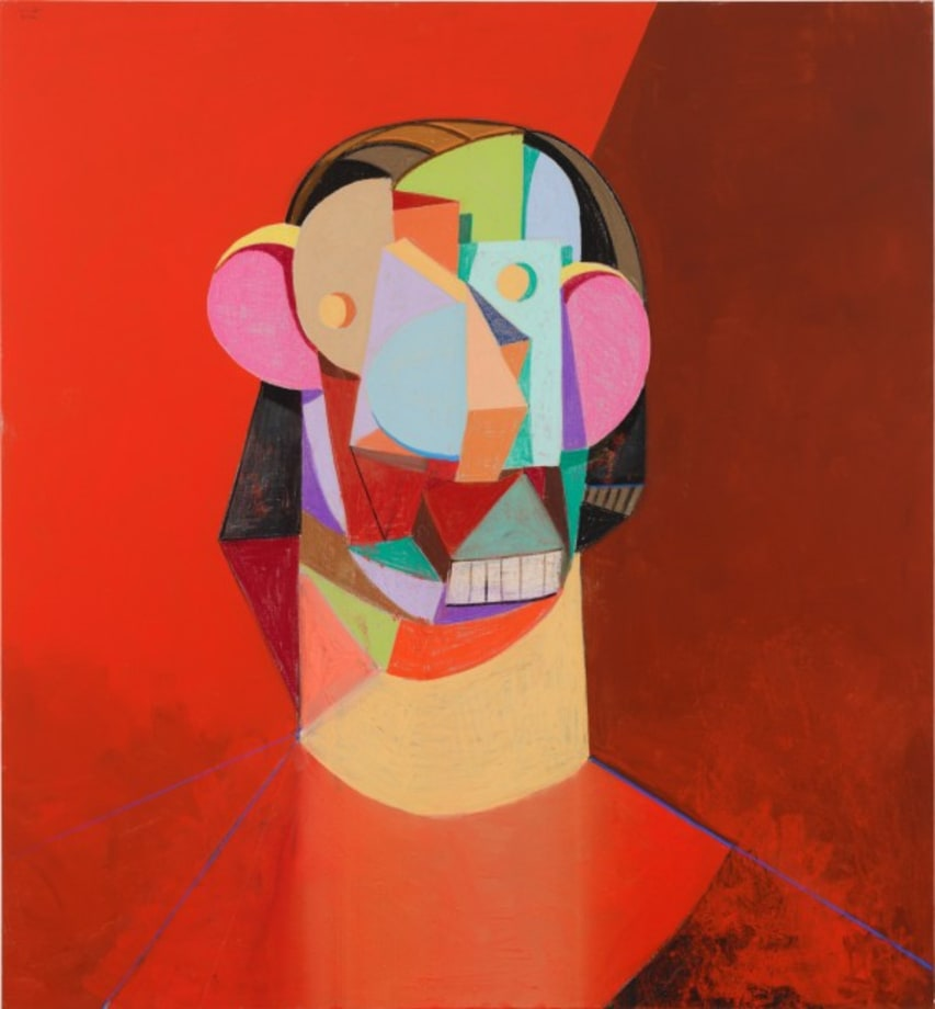 Red Head by George Condo