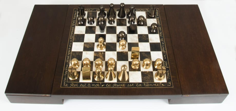 Chess Set by Man Ray
