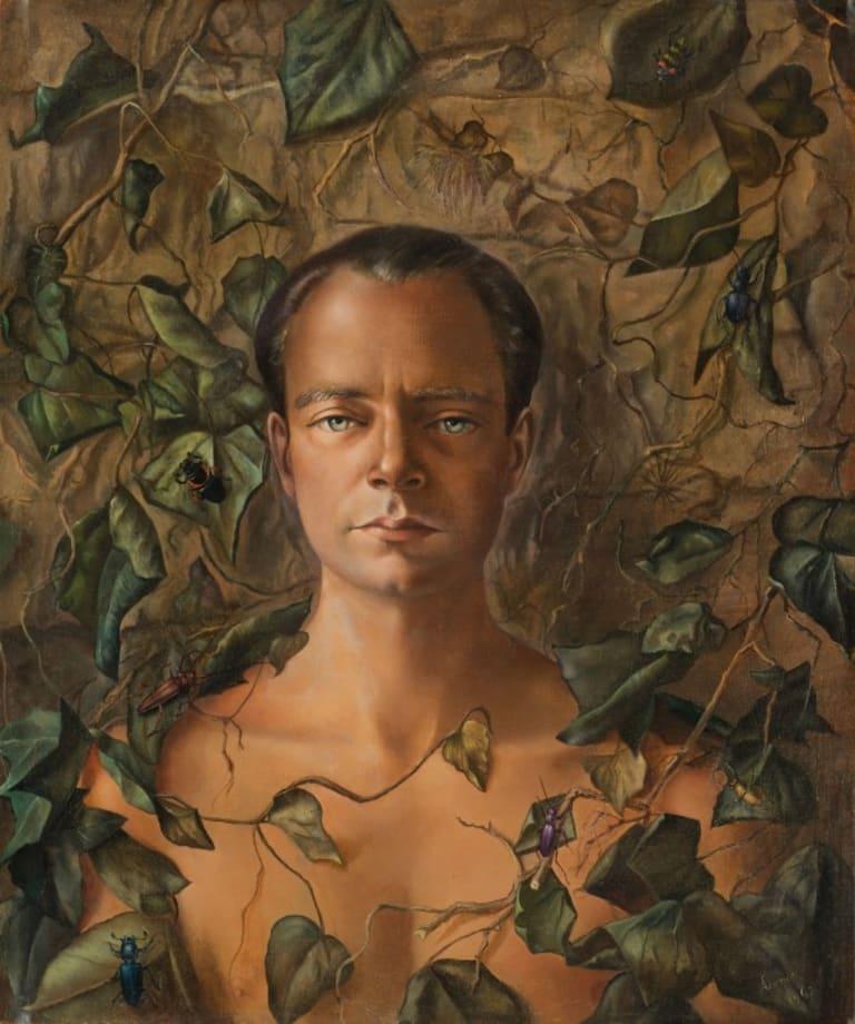 Portrait of Stanislao Lepri by Leonor Fini