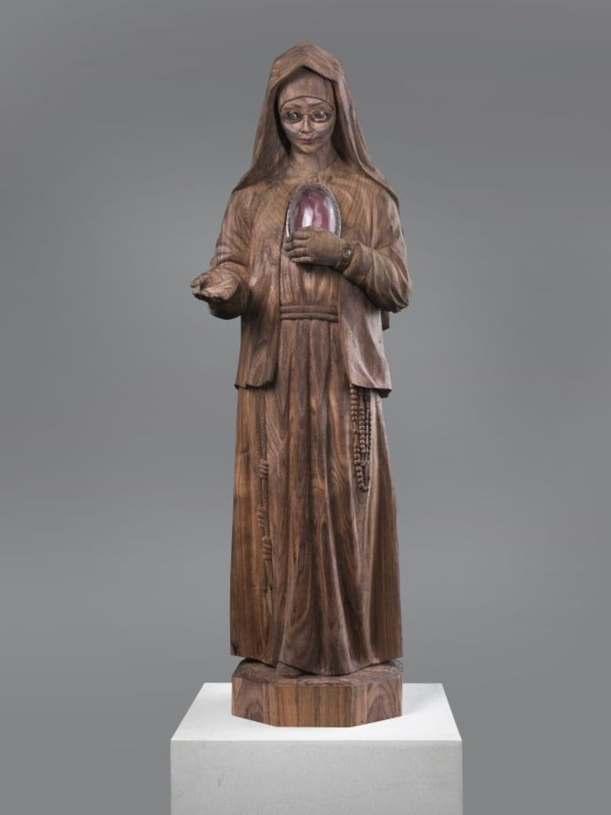 Young Nun (Sr. Alicia Torres) by Keith Edmier