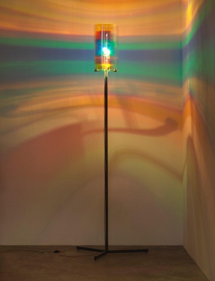 Striped eye lamp by Olafur Eliasson